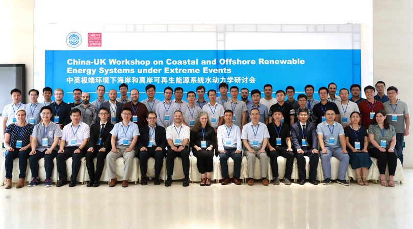 Participation in 'China-UK Workshop on Coastal and Offshore Renewable Energy Systems under Extreme Events'