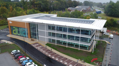 University of Hull climate change commitment strengthened as Aura Innovation Centre reaches major milestone